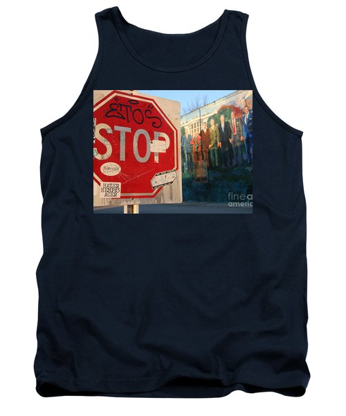 Street Art Washington D.c.  Tank Top by Clay Cofer