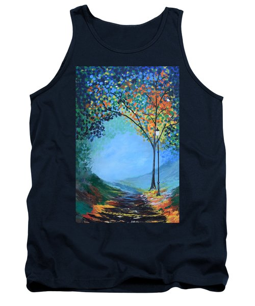 Street Lamp Tank Top by Gary Smith