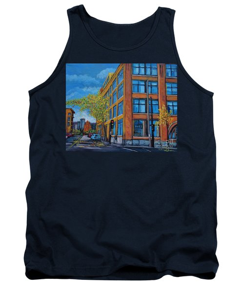 Street Study Montreal Tank Top by Reb Frost