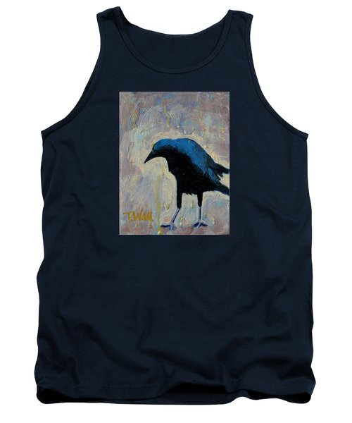Tank Top featuring the painting Struttin' by Pattie Wall