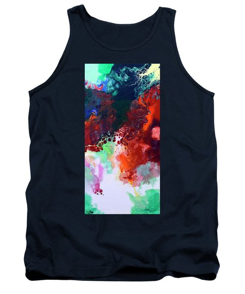 Subtle Vibrations, Canvas Five Of Five Tank Top