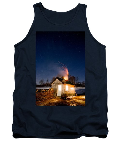 Sugaring Time Tank Top by Tim Kirchoff