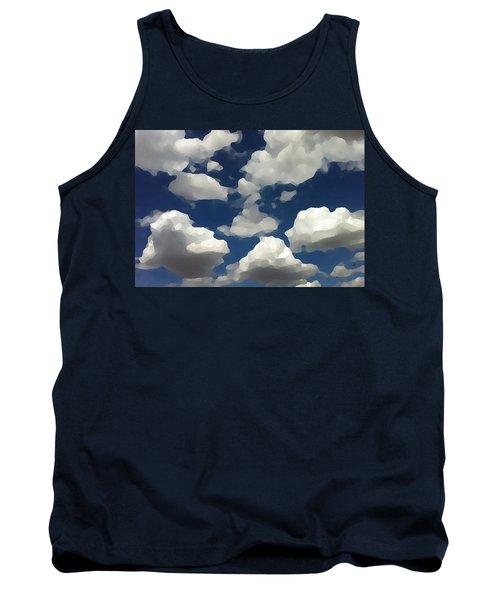 Summer Clouds In A Blue Sky Tank Top
