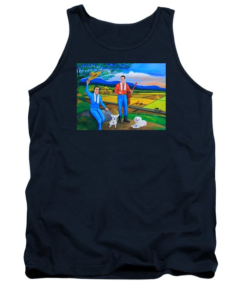 Summer View Tank Top by Cyril Maza