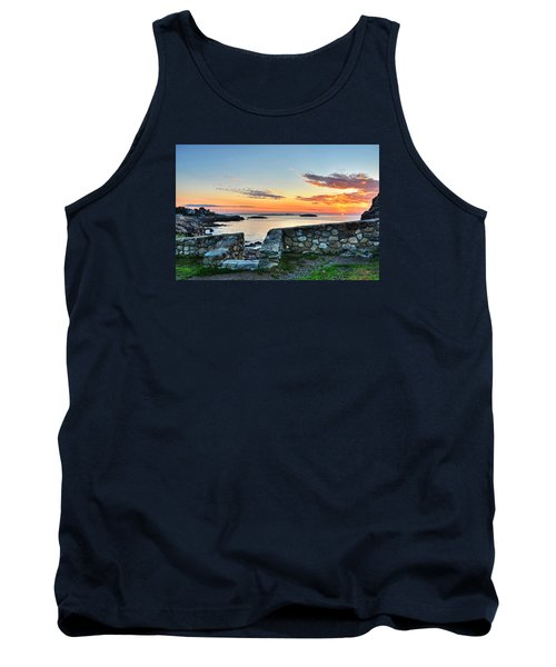 Sunrise At Castle Rock Marblehead Ma Tank Top