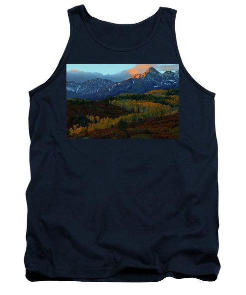 Sunrise At Dallas Divide During Autumn Tank Top