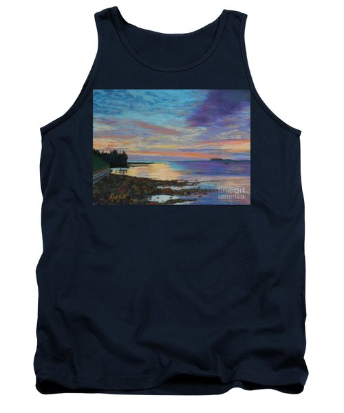Sunrise On Tancook Island  Tank Top by Rae  Smith PAC