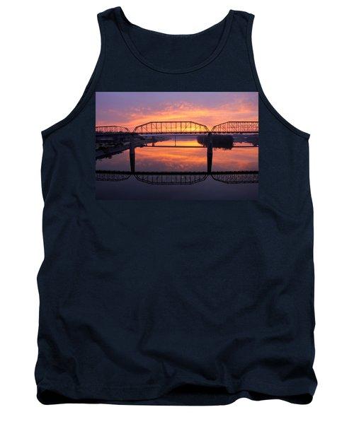 Sunrise Walnut Street Bridge 2 Tank Top