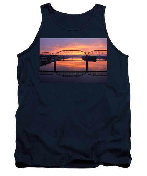 Sunrise Walnut Street Bridge 2 Tank Top