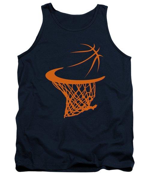 Suns Basketball Hoop Tank Top by Joe Hamilton