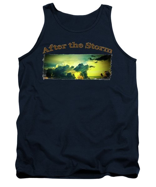 Sunset After The Storm Tank Top
