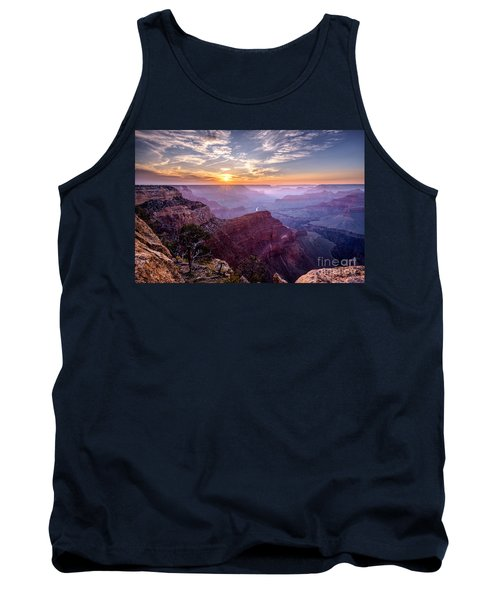 Sunset At Grand Canyon Tank Top by Daniel Heine