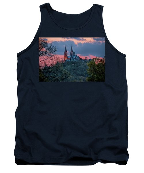 Sunset At Holy Hill Tank Top