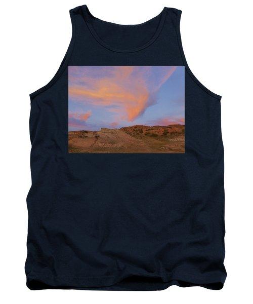 Sunset Clouds, Badlands Tank Top