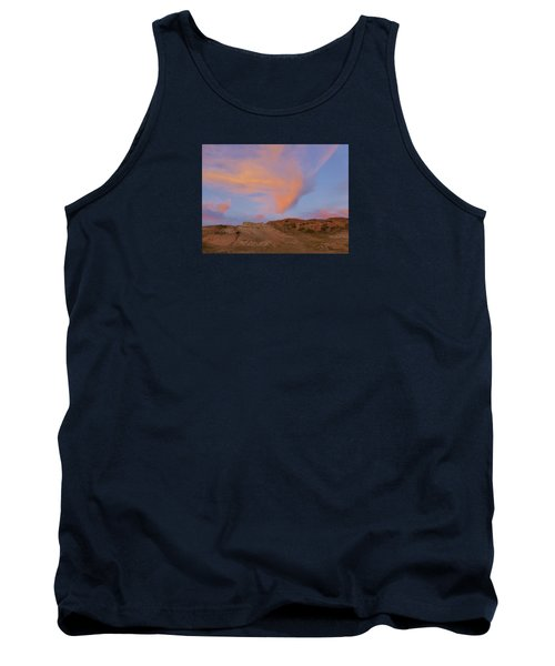 Sunset Clouds, Badlands Tank Top