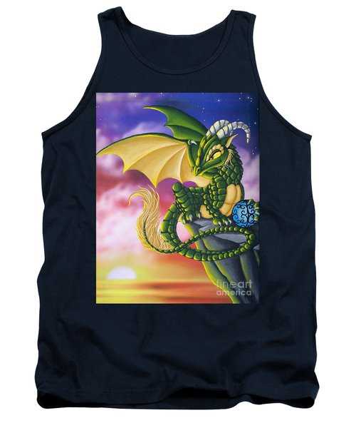 Sunset Dragon Tank Top