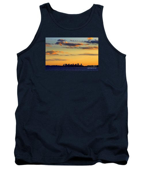Sunset On Boston Tank Top