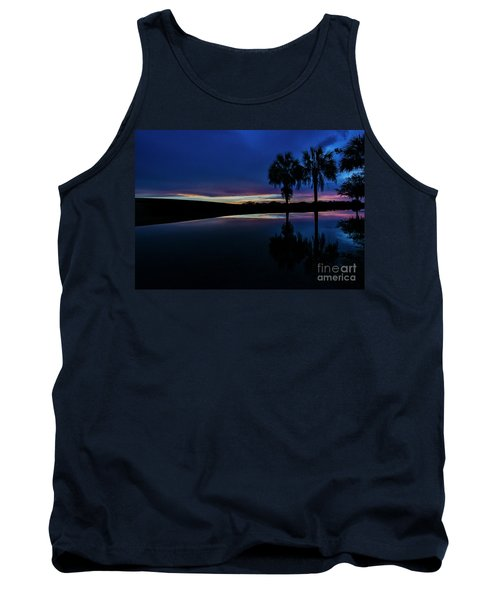 Sunset Palms Tank Top by Brian Jones