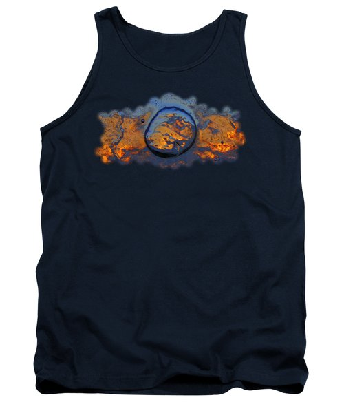 Tank Top featuring the photograph Sunset Rings by Sami Tiainen