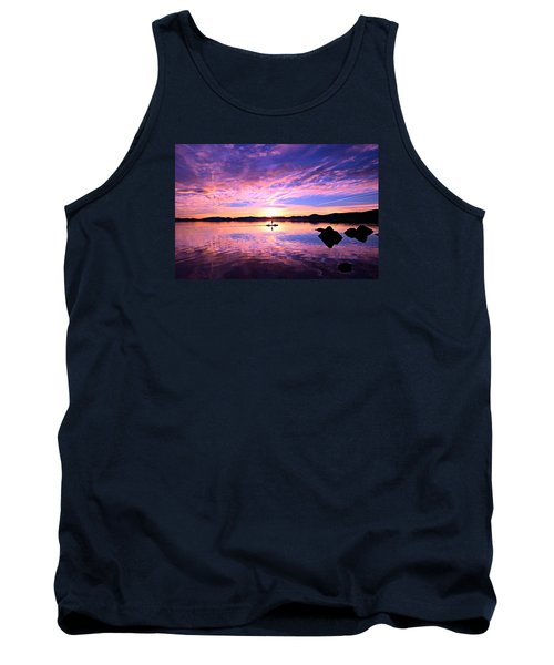 Sunset Supper Tank Top by Sean Sarsfield
