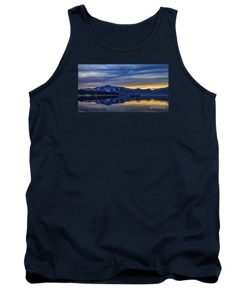 Sunset Timber Cove Tank Top by Mitch Shindelbower