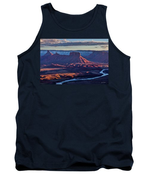 Sunset View From Omg Point Tank Top
