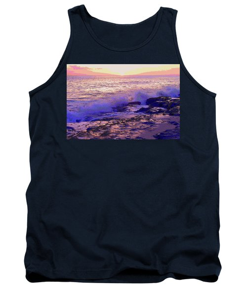 Sunset, West Oahu Tank Top