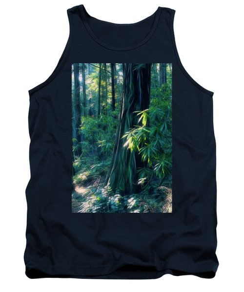 Sunshine In The Forest Tank Top