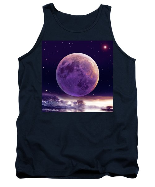 Super Cold Moon Over December Tank Top