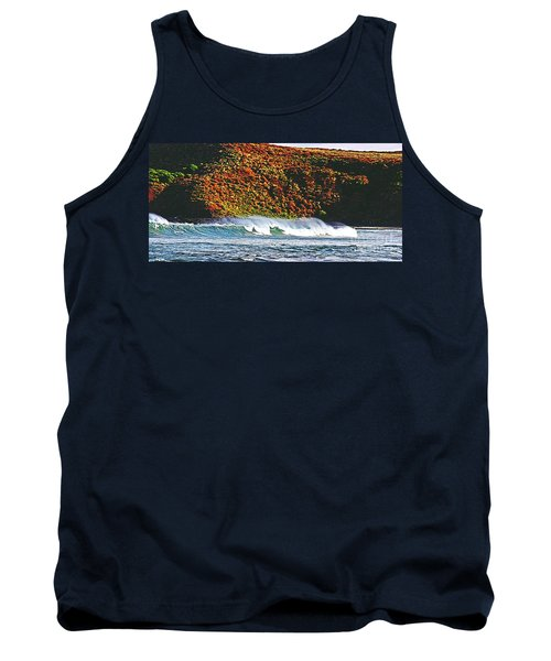 Surfing The Island Tank Top