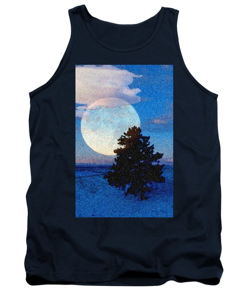 Surreal Winter Tank Top