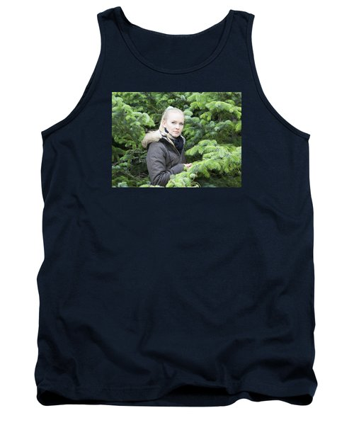 Surrounded By Trees Tank Top