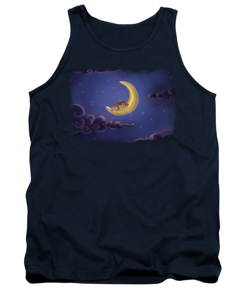 Tank Top featuring the drawing Sweet Dreams by Julia Art