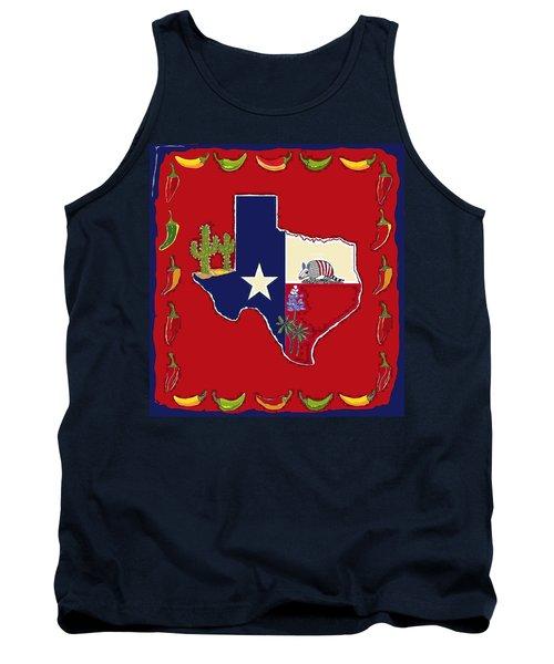 Symbols Of Texas Tank Top
