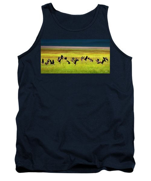 Take Off Tank Top by Leland D Howard