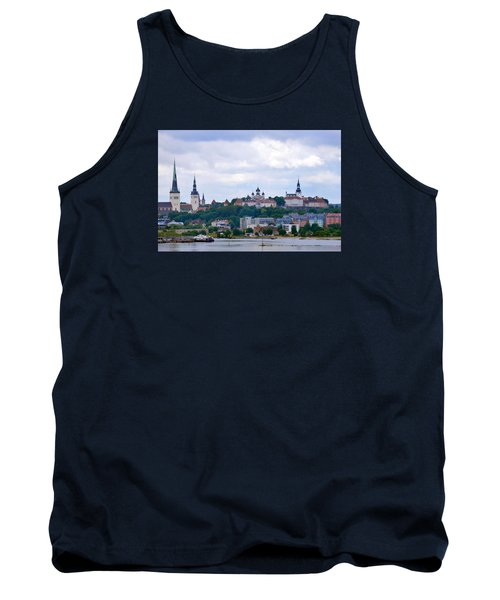 Tallinn Estonia. Tank Top by Terence Davis