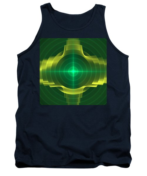 Tank Top featuring the digital art Target by Svetlana Nikolova
