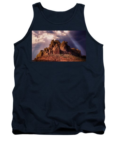 Temple Of Red Stone Tank Top