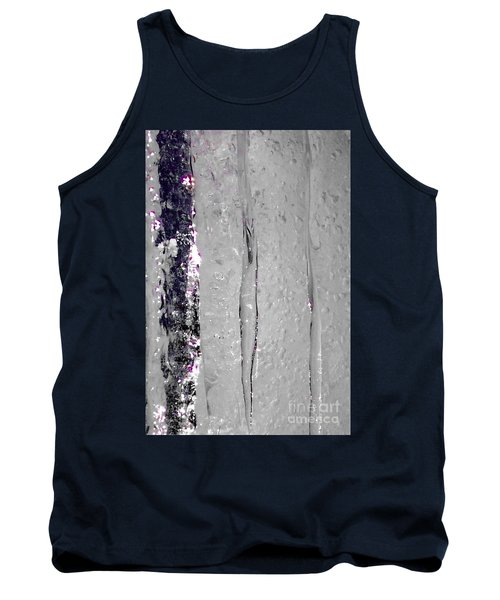 The Wall Of Amethyst Ice  Tank Top