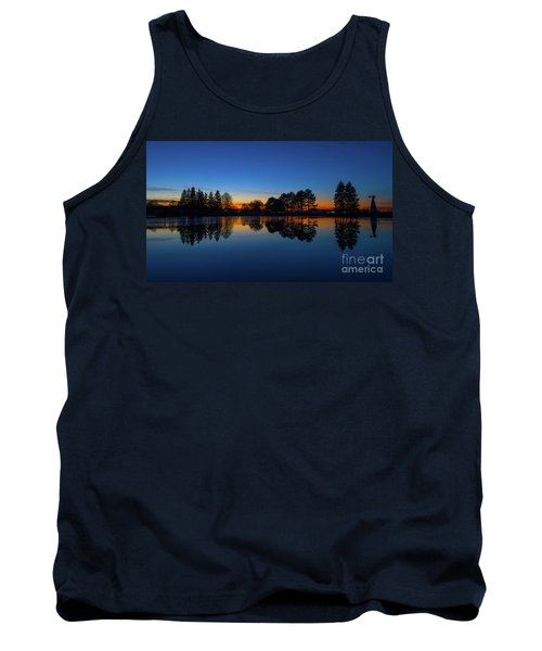 Tank Top featuring the photograph The Blue Hour.. by Nina Stavlund