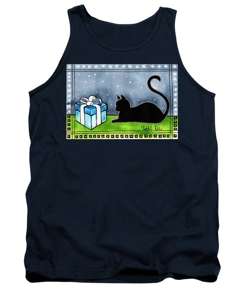 The Box Is Mine - Christmas Cat Tank Top