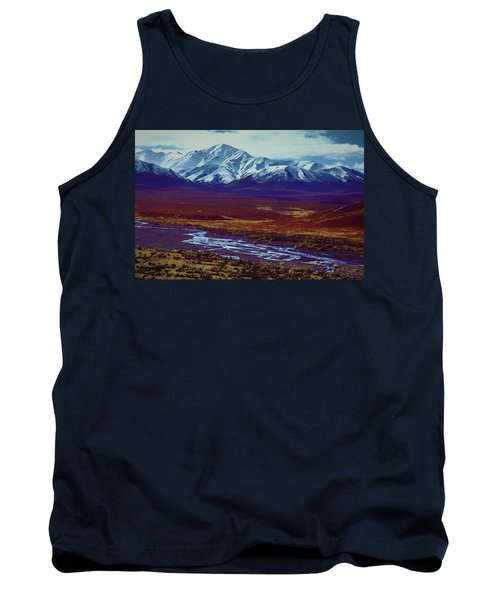 The Colors Of Toklat River Tank Top