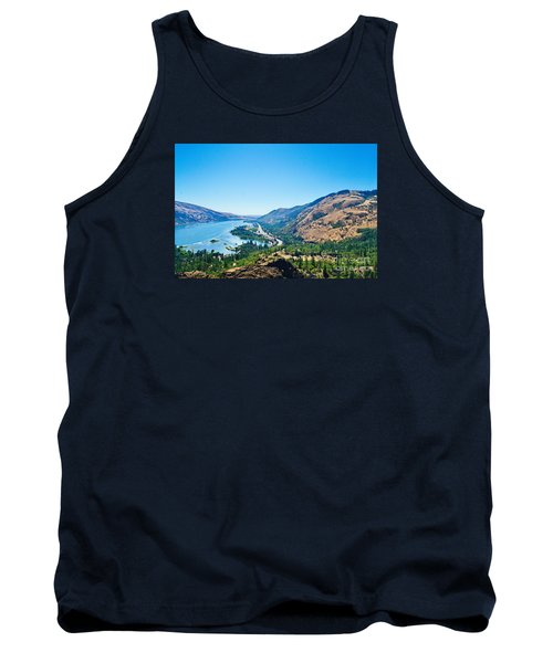 The Columbia River Gorge Tank Top by Ansel Price