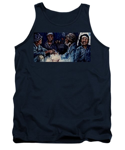 The  Desolation Of Poverty Tank Top by Hartmut Jager