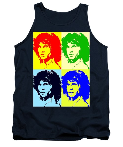 The Doors And Jimmy Tank Top by Robert Margetts