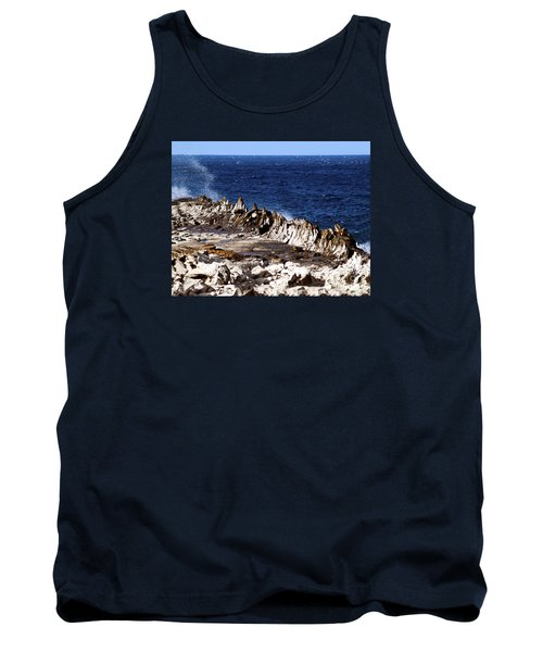 The Dragons Teeth II Tank Top by Patricia Griffin Brett
