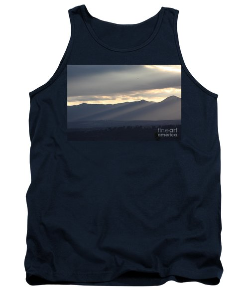 Tank Top featuring the photograph The Dying Of The Day by Brian Boyle