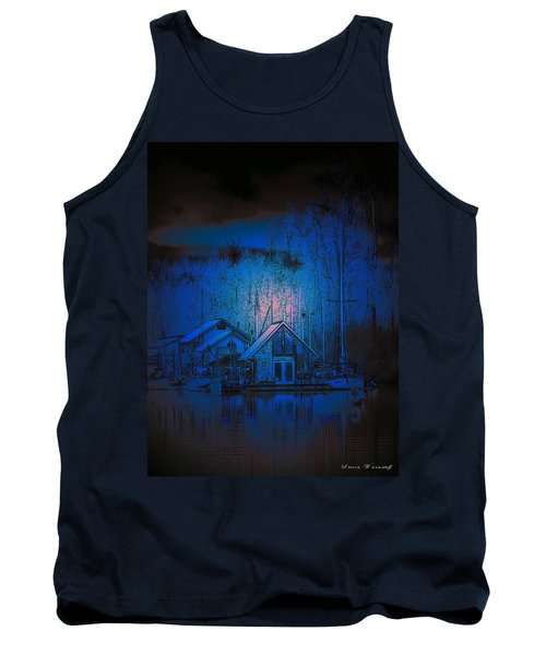 The Edge Of Night Tank Top