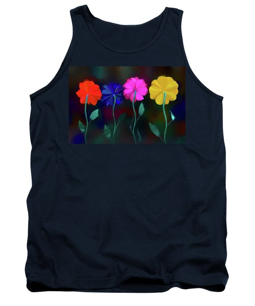 Tank Top featuring the photograph The Garden by Paul Wear