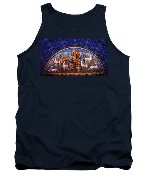 Tank Top featuring the photograph The Good Shepherd by Nigel Fletcher-Jones